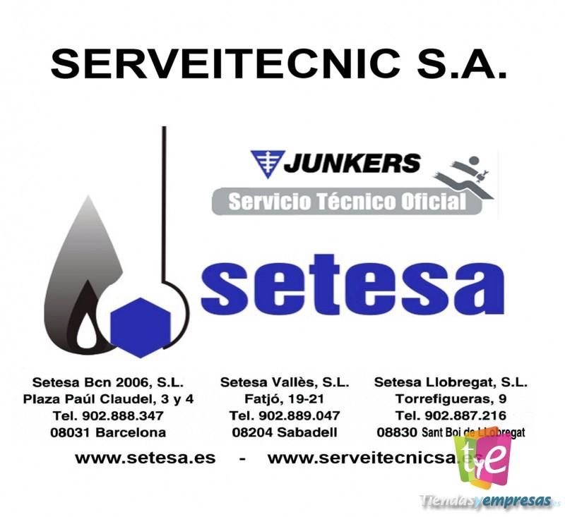 Setesa servicio t cnico oficial junkers neckar for Junkers calderas servicio tecnico