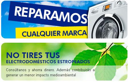 reparación de electrodomésticos en Gran Canaria